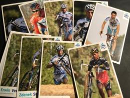Fidea - 2008 - Complete Set - 10 Cartes / Cards - Cyclists - Cyclisme - Ciclismo -wielrennen - Cyclisme