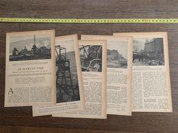 1918 JST DIAMANT NOIR MINEUR CHARBON PAYS DE GALLES VALLEE DE RHONDDA HALMEREND - Collections