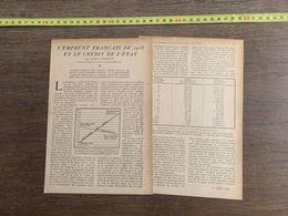 1918 JST EMPRUNT FRANCAIS DE 1918 ET LE CREDIT DE L ETAT GEORGES BREGANT - Collections