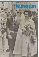 """JM04.07 / HEBDOMADAIRE D INFO """" LE MOSAN """" DINANT 1978 - VISITE ROYALE- PHOTOS A BOUVIGNES / PATRIS / PHOTO C.CONREUR... - Pubblicitari"""