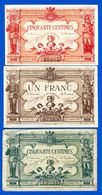 Poitiers  3  Billets - Handelskammer