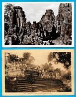 (Série De 2) CPA Cambodge : ANGKOR - Cambodia