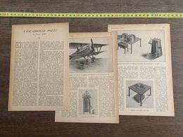 1918 JST ESCADRILLE POZZI FRANCIS MARRE PATROUILLEUR LE FAROUCHE AEROCHIR AUTOCHIR - Alte Papiere