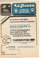 """JM04.07 / HEBDOMADAIRE D INFO """" LE MOSAN """" DINANT 1983 - 30 ANS DE JUMELAGE.... - Pubblicitari"""