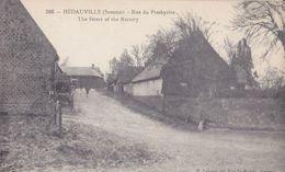 Hédauville Rue Du Presbytère - France