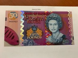 Pitcairn Islands 50 Pounds Uncirc. Banknote 2018 - Neuseeland