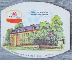 Sous-bock CAULIER Abbaye Abdij Kuringen Bierdeckel Bierviltje Coaster (CX) - Sotto-boccale