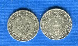 Franc  1888 +1895 - Francia