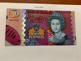 Pitcairn Islands 50 Pounds Uncirc. Banknote 2018 #2 - Neuseeland