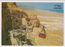 ISRAEL -  AK 382046 Masada - The Cableway - Israel