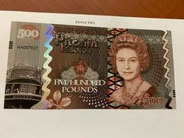 Pitcairn Islands 500 Pounds Uncirc. Banknote 2018 - Neuseeland