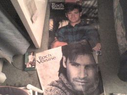 Roch Voisine 2 Posters MEGA RARES Que J'avais Eus Au Canada 54 Cm X 66 Cm Et 59 X 61cm - Affiches & Posters