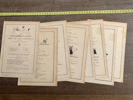 1918 JST JOUR DE L AN D ETOILE COMEDIE HUGUES DELORME PIERRE DECOURCELLE - Collections