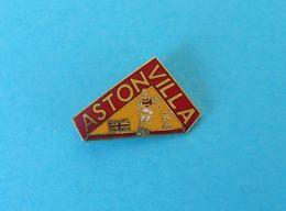 ASTON VILLA FC - England Football Soccer Club Enamel Pin Badge British Fussball Futbol Futebol Foot Calcio Abzeichen - Fussball