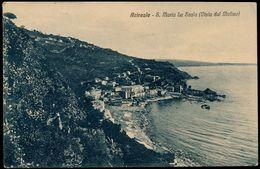 ACIREALE - S. MARIA LA SCALA VISTA DAL MOLINO 1934 - Acireale