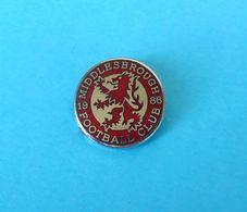 MIDDLESBROUGH FC - England Football Soccer Club Enamel Pin Badge * Fussball Calcio Futbol Futebol Foot British - Fussball