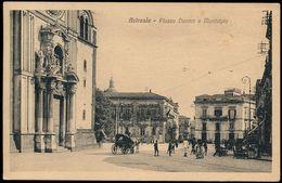 ACIREALE - PIAZZA DUOMO E MUNICIPIO 1929 - Acireale