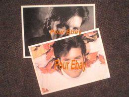 Roch Voisine 2 Photos Officielles De La Boutique Roch Voisine En 1995 = 29.8 Cm X 21 Cm Chacune - Photos