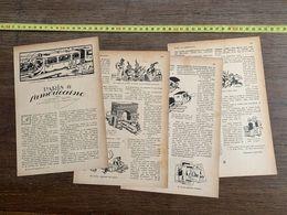 1918 JST PARIS A L AMERICAINE CLEMENT VAUTEL MARCEL CAPY - Collections