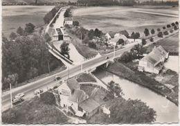 71   Fontaines Le Gauchard  Env Chalon Sur Saone  Vue Aerienne  Pont Sur Le Canal Du Centre   CPM - Altri Comuni