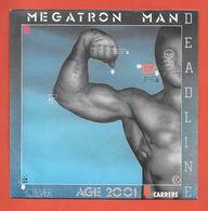 Disque Vinyle 45 Tours : DEADLINE   :  MEGATRON MAN..Scan B  : Voir 2 Scans - Instrumental