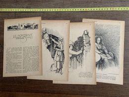 1918 JST PORTRAIT DE MADAME BARANGE NOUVELLE FREDERIC BOUTET ERIC DE COULON - Collections