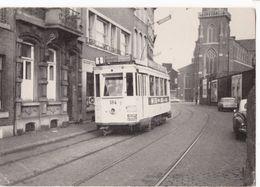 LIEGE, Rue St Léonard, Le 15 Février 1964 - STIL -  *15 Cm X 10,5* - Tranvía