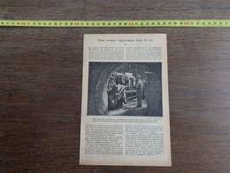 1918 JST POUR CREUSER RAPIDEMENT DANS LE ROC PERFORATRICE - Collections