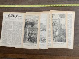 1918 JST LE P'TIT GARS NOUVELLE GASTON ROUPNEL FREDERIC BROWNE - Collections