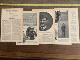 1918 JST QUELQUES SOUVENIRS DES AS DES AS ALLIES GEORGES GUYNEMER ALBERT BALL JACQUES MORTANE JEAN DACAY - Collections