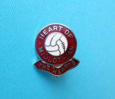 HEART OF MIDLOTHIAN FC (HEARTS) - Scotland Football Soccer Old Enamel Pin Badge * Fussball Calcio Futbol Foot Futebol - Fussball