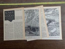 1918 JST RAID SUR PARIS NOUVELLE CAMILLE MAYRAM FREDERIC BROWNE - Alte Papiere