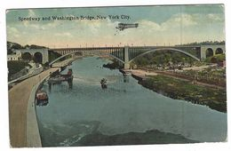 CLA338 - SPEEDWAY AND WASHINGTON BRIDGE NEW YORK CITY 1915 - Multi-vues, Vues Panoramiques