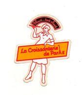Autocollant La Croissanterie De Paris - Format : 9.5x7.5 Cm - Pegatinas