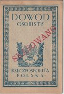 POLAND Passport  1923 Passeport POLOGNE – Reisepaß – Revenues/Fiscaux - Historische Dokumente