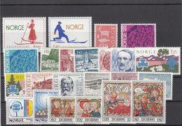 Norway 1975 - Full Year MNH ** - Ganze Jahrgänge