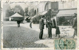 PARIS - LES PETITS METIERS - LE MARCHAND De PLANS  - - Straßenhandel Und Kleingewerbe