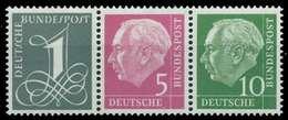 BRD ZUSAMMENDRUCK Nr W18YII Postfrisch 3ER STR X877DF6 - [7] République Fédérale