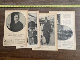 1918 JST WILLIAM GIBBS MC ADOO SECRETAIRE DU TRESOR AMERICAIN - Alte Papiere