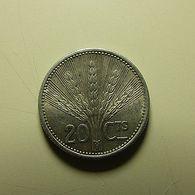 Uruguay 20 Centavos 1954 Silver - Uruguay