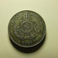 Brazil 50 Reis 1887 - Brasilien