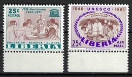 Liberia 1961, UNESCO **, MNH - Liberia