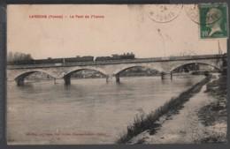 89 - LAROCHE - Le Pont De L'Yonne - ( Train - Locomotive - Convoi Ferroviaire ) - Laroche Saint Cydroine