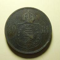 Brazil 40 Reis 1879 - Brasilien