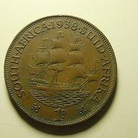 South Africa 1 Penny 1938 - Sudáfrica