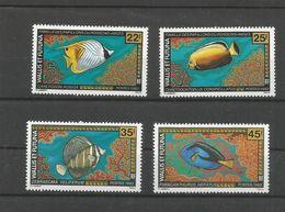 437/38 Et 451/52  Poissons Luxe Sans Ch           (815) - Wallis Y Futuna
