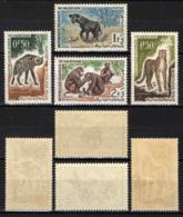 MAURITANIA - 1963 - ANIMALI SELVATICI - MH - Mauritania (1960-...)