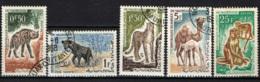 MAURITANIA - 1963 - ANIMALI SELVATICI - USATI - Mauritania (1960-...)