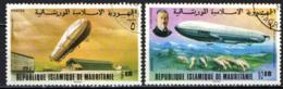 MAURITANIA - 1976 - 75° ANNIVERSARIO DELLO ZEPPELIN - USATI - Mauritania (1960-...)