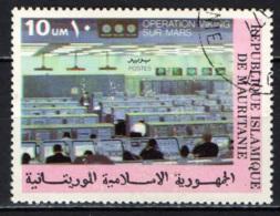 MAURITANIA - 1977 - CENTRO OPERATIVO SPAZIALE DELLA NASA AD HOUSTON - USATO - Mauritania (1960-...)